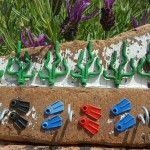 piezas de lego reutilizadas